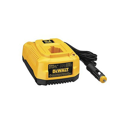 Dewalt: Vehicle Charger, 12V, 1 Hour Charger for 7.2-18V Batteries