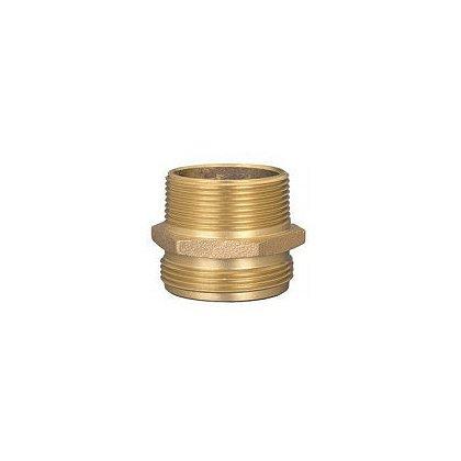 Dixon Double Male Hex Brass Nipple