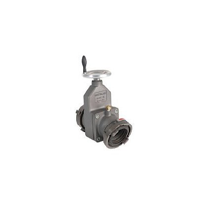 Dixon Large Diameter Gate Valve Storz x Female 30° Swivel