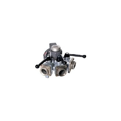 Dixon Aluminum 3-Way Ball Valve, Storz Inlet, Male Outlet
