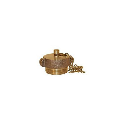 Dixon: Brass Rocker Lug Plug with Chain