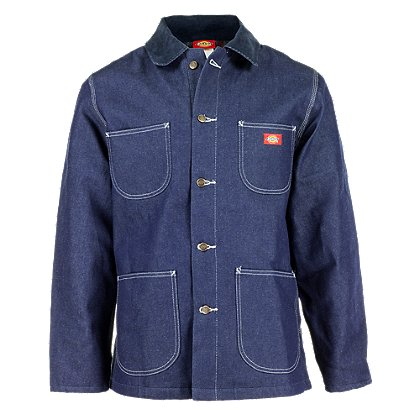 Dickies: Denim Chore Coat with Blanket Lining