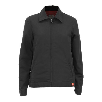 Dickies Women's Eisenhower Jacket, Lined, Black