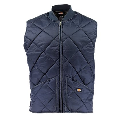 Dickies Diamond Quilted Nylon Vest Jacket