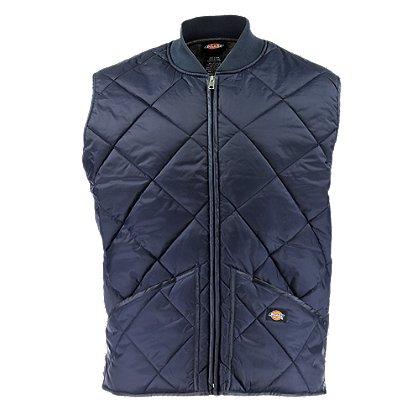 Dickies: Diamond Quilted Nylon Vest Jacket