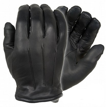 Damascus: Thinsulate Line Leather Dress Glove, Black
