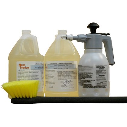 Shield Solutions Standard Diamond Plate Cleaning Kit