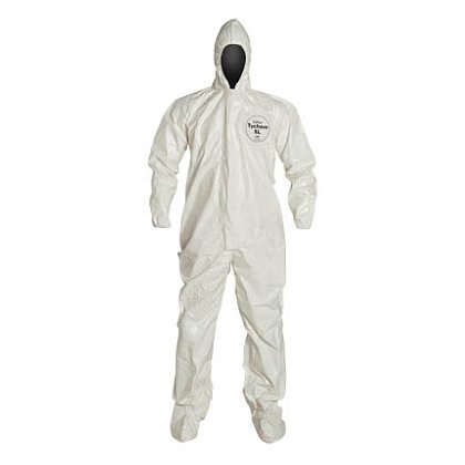DUPONT™ TYCHEM® SL COVERALL, with Hood and Integrated Socks, 6 per case