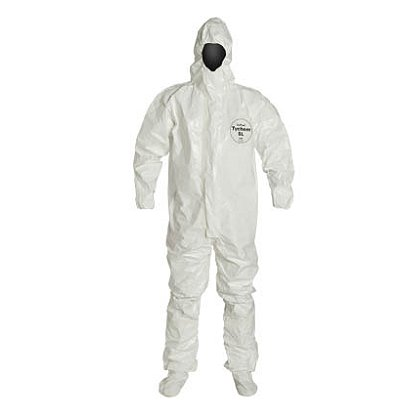 DUPONT™ TYCHEM® SL COVERALL with Integrated Socks, 6 per case