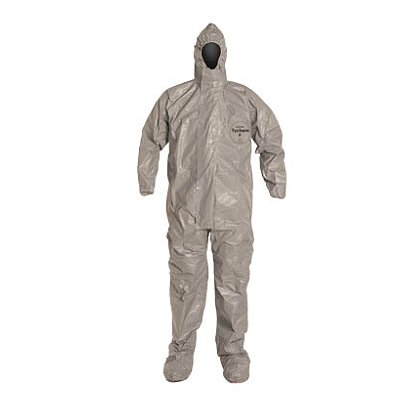 DUPONT™ TYCHEM® F COVERALL with Three Piece Hood, 6 per case