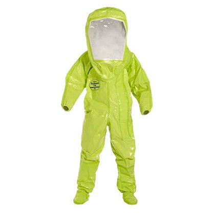 DUPONT™ TYCHEM® TK Fully Encapsulated Level B Suit, 1 per case