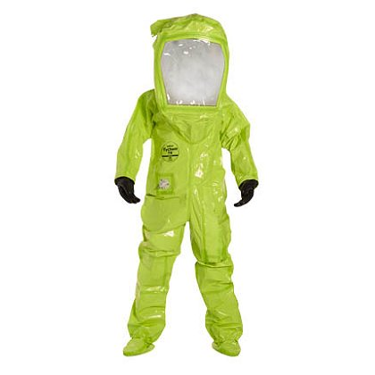 DUPONT™: TYCHEM® TK Commander Level A Suit, Flat Back with Pass Through, 1 per case