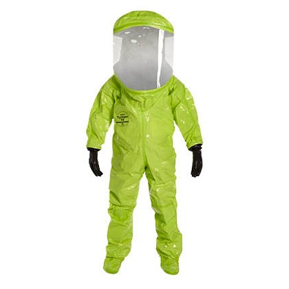 DUPONT™ TYCHEM® TK ENCAPSULATED LEVEL A SUIT with Pass Through, NFPA Cert, 1 per case