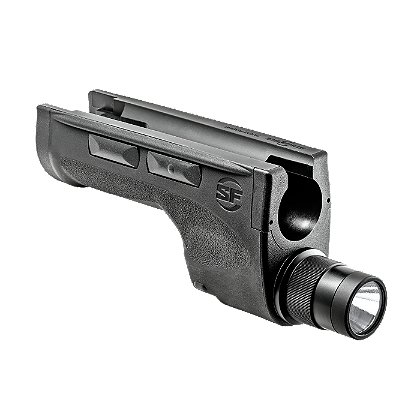 "SureFire: DSF Dedicated Shotgun Forend LED WeaponLight, 2 SF123A Batteries, 600 Lumens, 9.2"" Long"