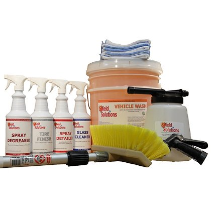 Shield Solutions: Deluxe Vehicle Cleaning Kit