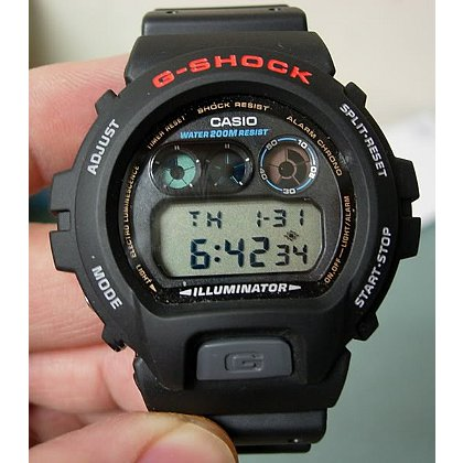 Casio G-Shock Digital Watch, Black