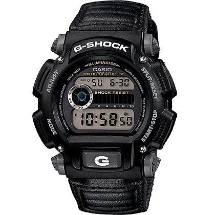 Casio: G-Shock Classic Digital Watch Black Nylon Band