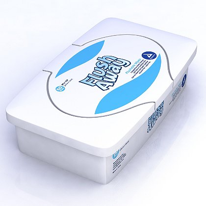 Dynarex Flush Away Biodegradable Wipes