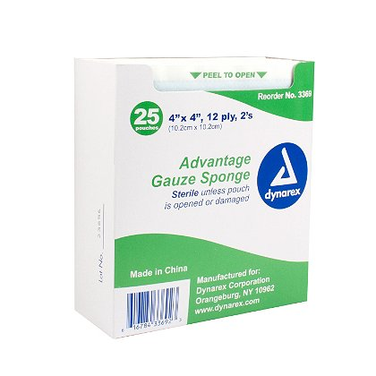 Dynarex: Sterile Advantage Gauze Sponge
