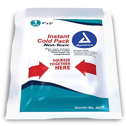 Dynarex: Instant Cold Pack w/Urea (Non-toxic)