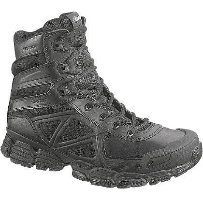 "Bates Men's 8"" Velocitor Zip Waterproof Boot, Black"