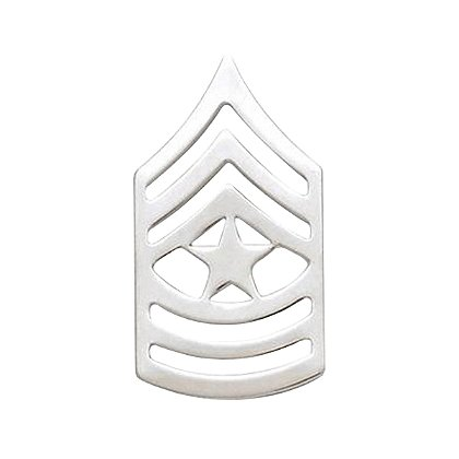 Smith & Warren Sergeant Major Chevron Collar Pin, 1.52