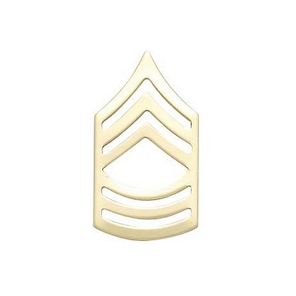 Smith & Warren Master Sergeant Military Chevron Pin Set, 1.52