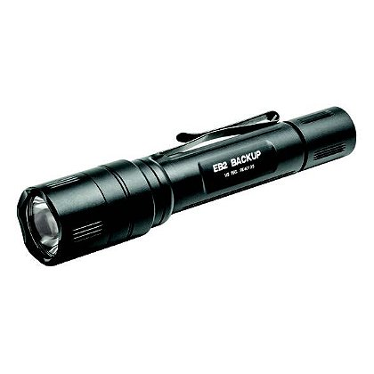 "Surefire EB2 Backup LED Flashlight, 2 SF123A Batteries, 500 Lumens, 5.7"" Long"