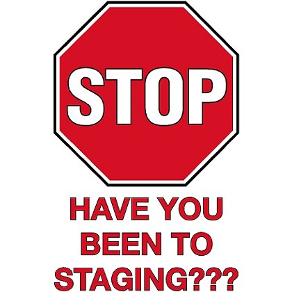 TheFireStore: STOP! Safety Staging Decal, 4