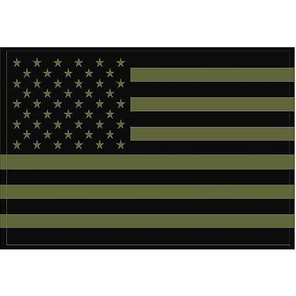 Exclusive Reflective U.S. Flag Decals