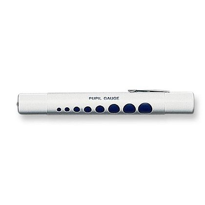 EMI Disposable Penlight w/Pupil Gauge, Six Pack