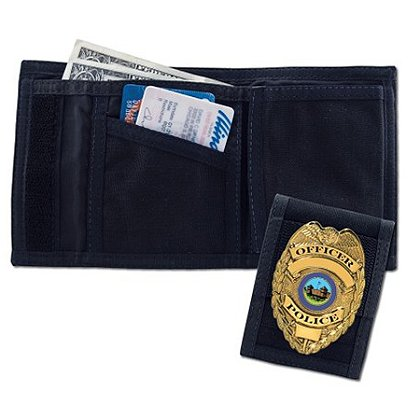 EMI: Police Nylon Wallet/Badge Holder