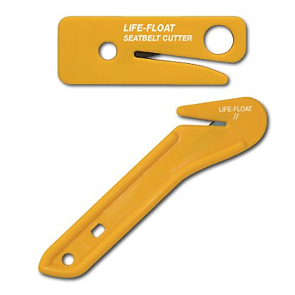EMI Life-Float Seat Belt Cutter