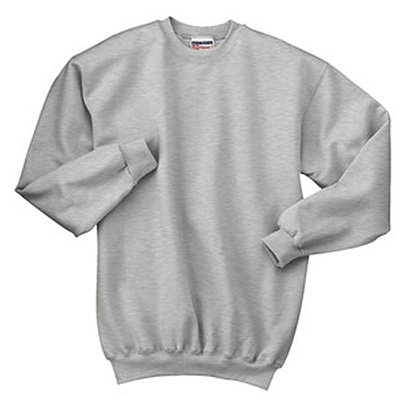 Hanes Ultimate Cotton® Crewneck Sweatshirt, Ash Gray