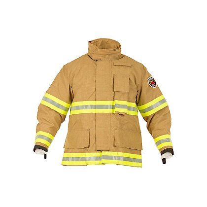 Fire Dex Gold FXA Express Coat, 7.2 oz Advance-Nomex/Kevlar