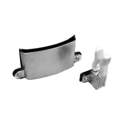 Fire Hooks Unlimited: Chrome Plated Axe Holder w/ Spring Tension Clip