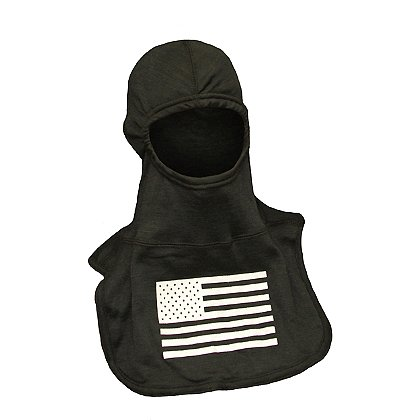 Majestic Fire Apparel: Fire Ink C6 American Flag Hood