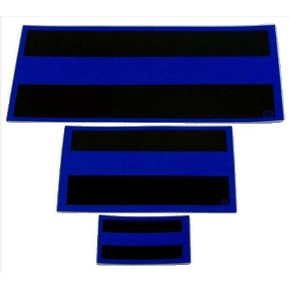 FrontLine Designs, LLC Thin Blue Line Decal, Reflective