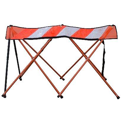 Flex-Safe: Hi-Vis Collapsible Barricade