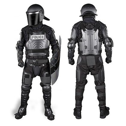 Damascus Flex Force Modular Hard Shell Crowd Suit