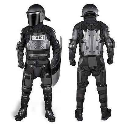 Damascus: Flex Force Modular Hard Shell Crowd Suit