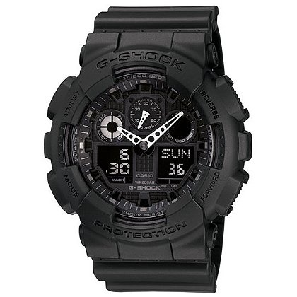 Casio G-Shock Classic XL-G Watch, Analog/Digital, Black