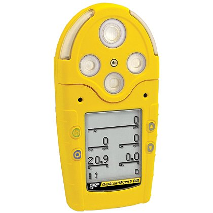 BW Technologies GasAlertMicro 5 PID, VOCs, Rechargeable