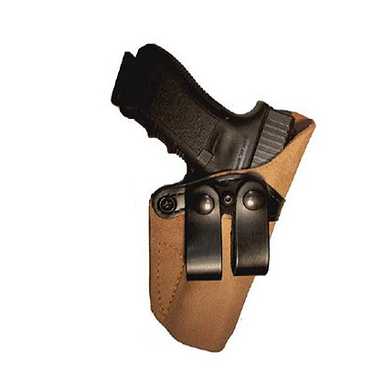 Gould & Goodrich Concealment 808 Inside Trouser Holster, Natural Roughout Leather