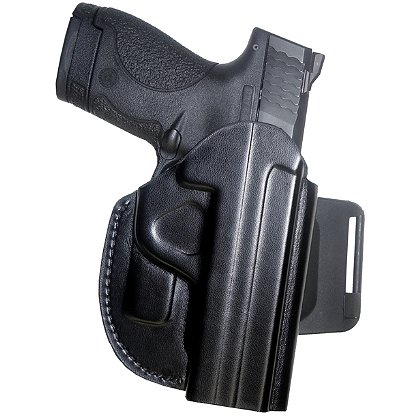 Gould & Goodrich Concealment, Auto-Retention Belt Slide Holster, Black