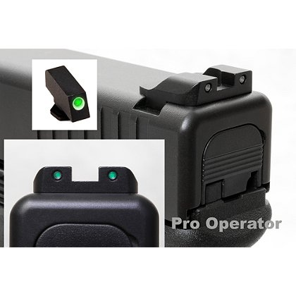 AmeriGlo Pro Operator Night Sights for Glock Pistols