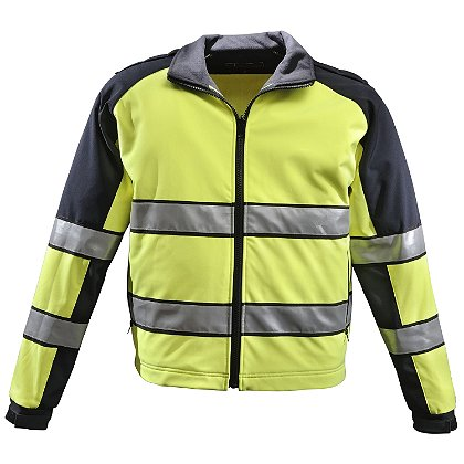 Gerber Outerwear: Sigma Two Tone Soft Shell Liner Jacket, ANSI 107 Class 3 High Vis