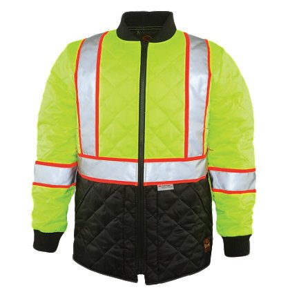 Game Sportswear Hi-Vis Quilted Jacket