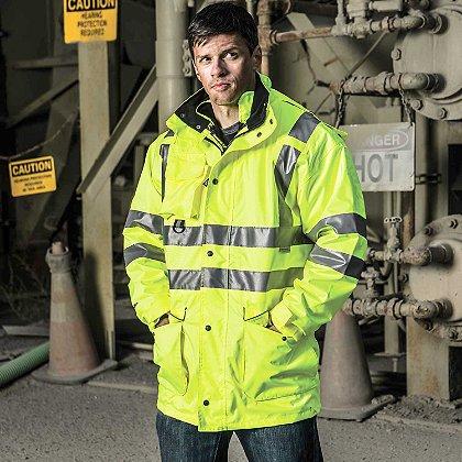 Game Sportswear: 6-in-1 Jacket, Neon Lime