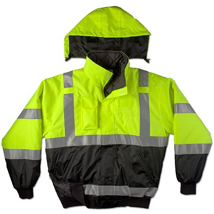 Game Sportswear Municipality Jacket,  Neon Lime